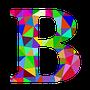 colourful B
