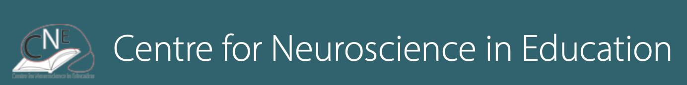 Centre for Neuroscience in Education logo
