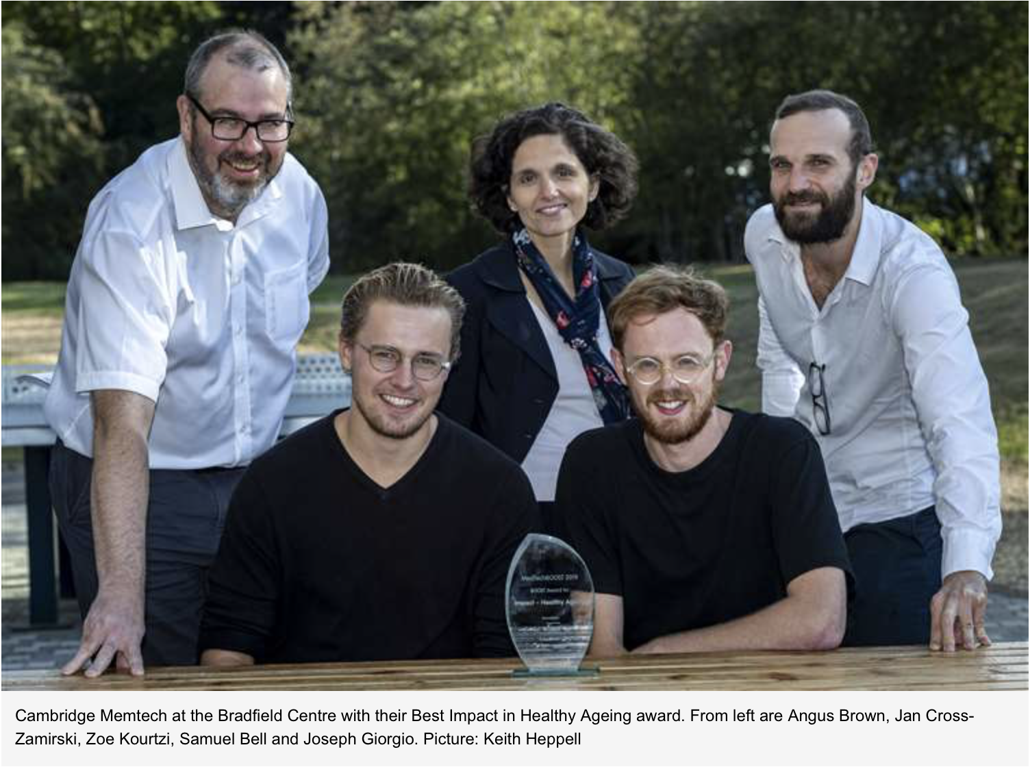Medtech award - Cambridge Memtech group