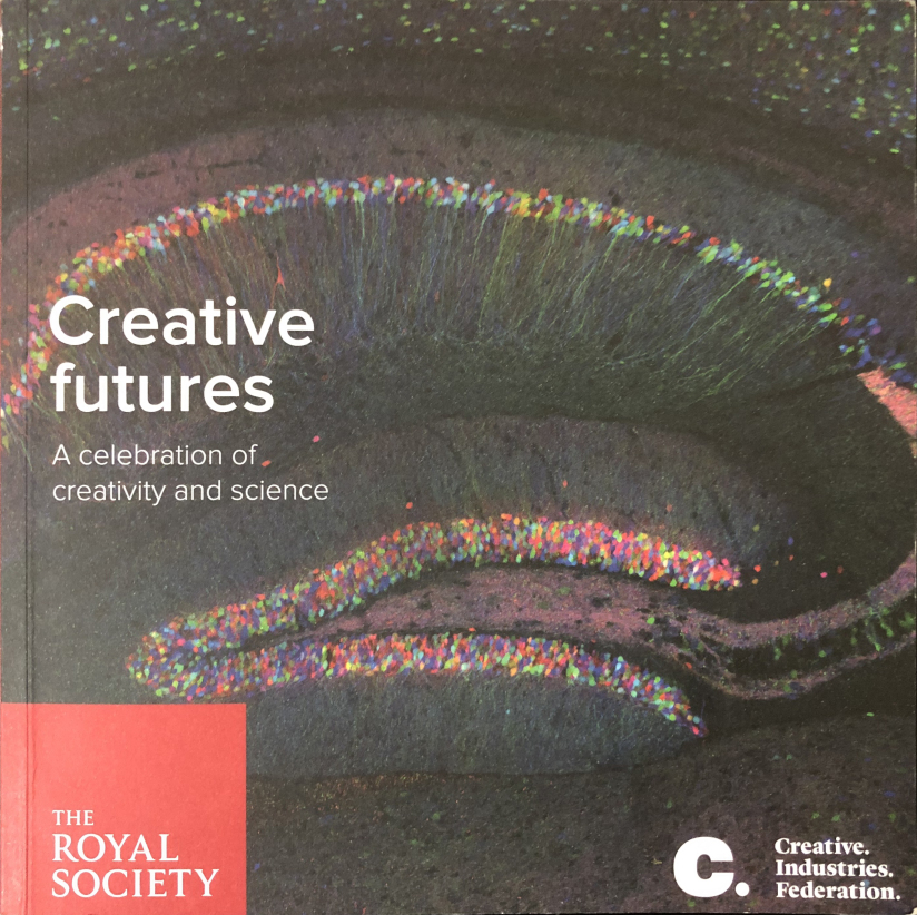 book cover of Creative Futures by The Royal Society