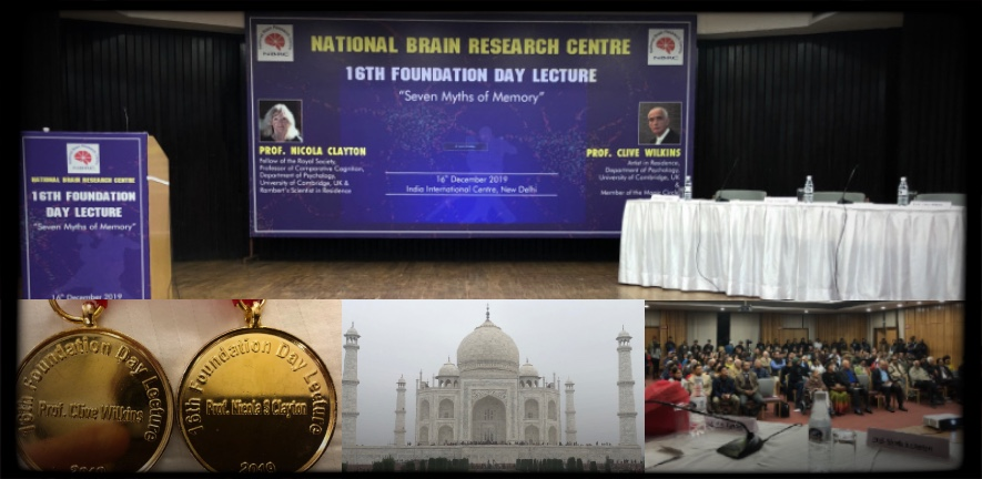 mix of photos from India National Brain Research Centre, New Delhi