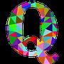 colourful Q