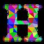 colourful H