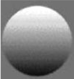 image of a grey sphere