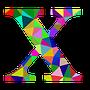 colourful x