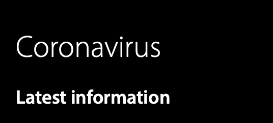 coronavirus - news