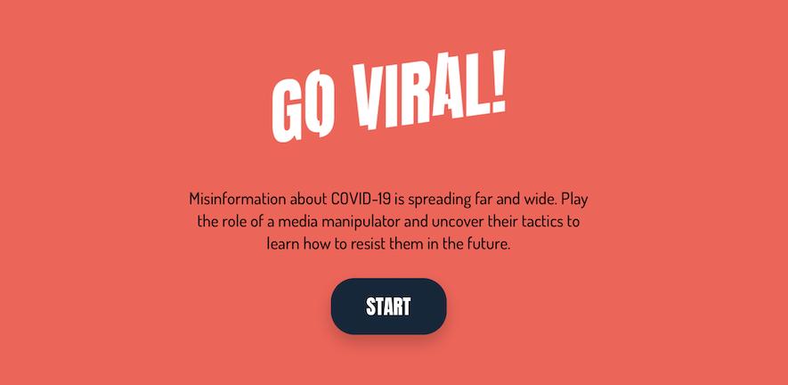 PRINT OF GO VIRAL! WEBPAGE